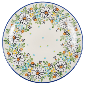 "10"" Dinner Plate (Daisy Bouquet)"