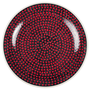 "10"" Dinner Plate (Scarlet Night)"