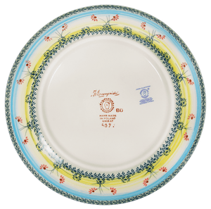 "10"" Dinner Plate (Butterflies in Flight)"