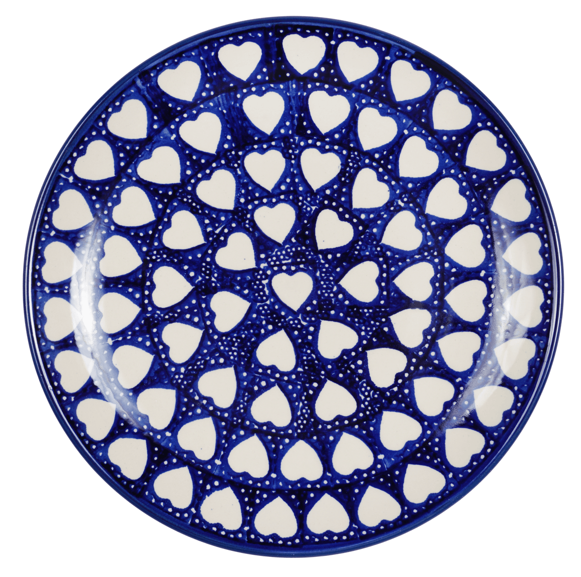 "10"" Dinner Plate (Sea of Hearts)"