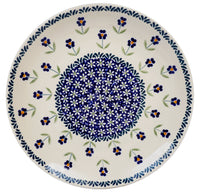 "10"" Dinner Plate (Forget Me Not) 