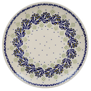 "10"" Dinner Plate (Splash of Blue)"