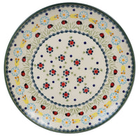 "10"" Dinner Plate (Lady Bugs) 