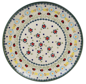 "10"" Dinner Plate (Lady Bugs)"