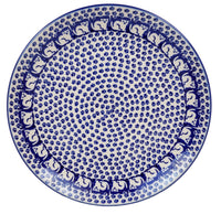 "10"" Dinner Plate (Kitty Cat Path)"