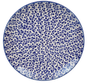 "10"" Dinner Plate (Tiny Bubbles)"