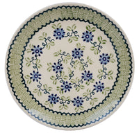 "10"" Dinner Plate (Woven Blues)"