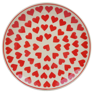 "10"" Dinner Plate (Whole Hearted Red)"