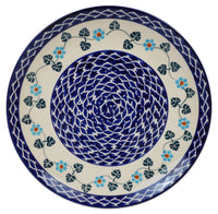 "10"" Dinner Plate (Basket of Blue) 