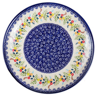"10"" Dinner Plate (Floral Garland) 
