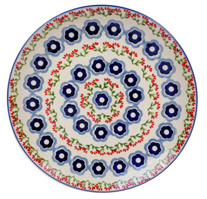 "10"" Dinner Plate (Billowy Blossoms)"