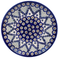 "10"" Dinner Plate (Fancy Peacock) 