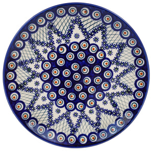 "10"" Dinner Plate (Fancy Peacock)"