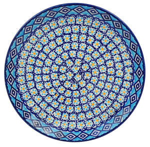 "10"" Dinner Plate (Blue Diamond)"