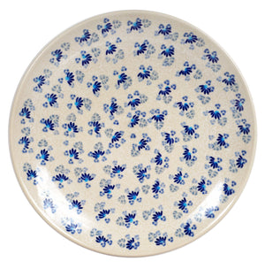 "10"" Dinner Plate (Dusty Blue Daisies)"