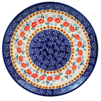 "10"" Dinner Plate (Red Daisy Daze)"
