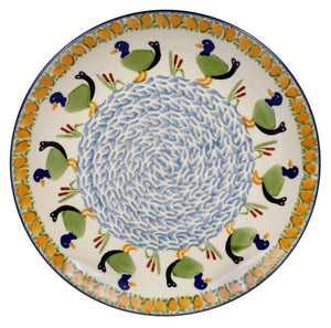 "10"" Dinner Plate (Ducks in a Row)"