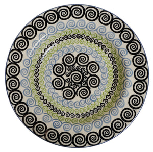 "9.25"" Soup Plate (Hypnotic Whirlpool)"