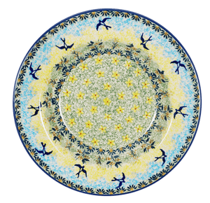 "9.25"" Soup Plate (Soaring Swallows)"