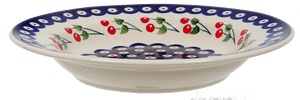 "9.25"" Soup Plate (Cherry Dot)"