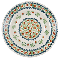 "9.25"" Soup Plate (Chocolate Mint)"