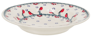 "9.25"" Soup Plate (Red Bird)"