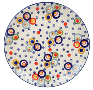 "8.5"" Salad Plate (Bubble Machine)"