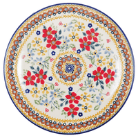 "8.5"" Salad Plate (Ruby Duet)"