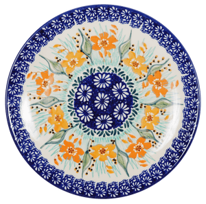 "8.5"" Salad Plate (Sun-Kissed Garden)"