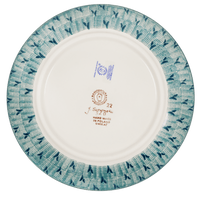 "8.5"" Salad Plate (Baby Blue Blossoms)"