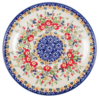 "8.5"" Salad Plate (Poppy Persuasion)"