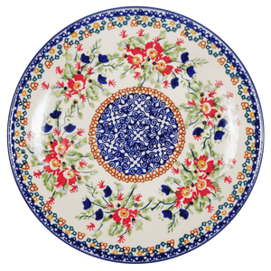 "8.5"" Salad Plate (Poppy Passion)"