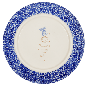 "8.5"" Salad Plate (Duet in Blue)"