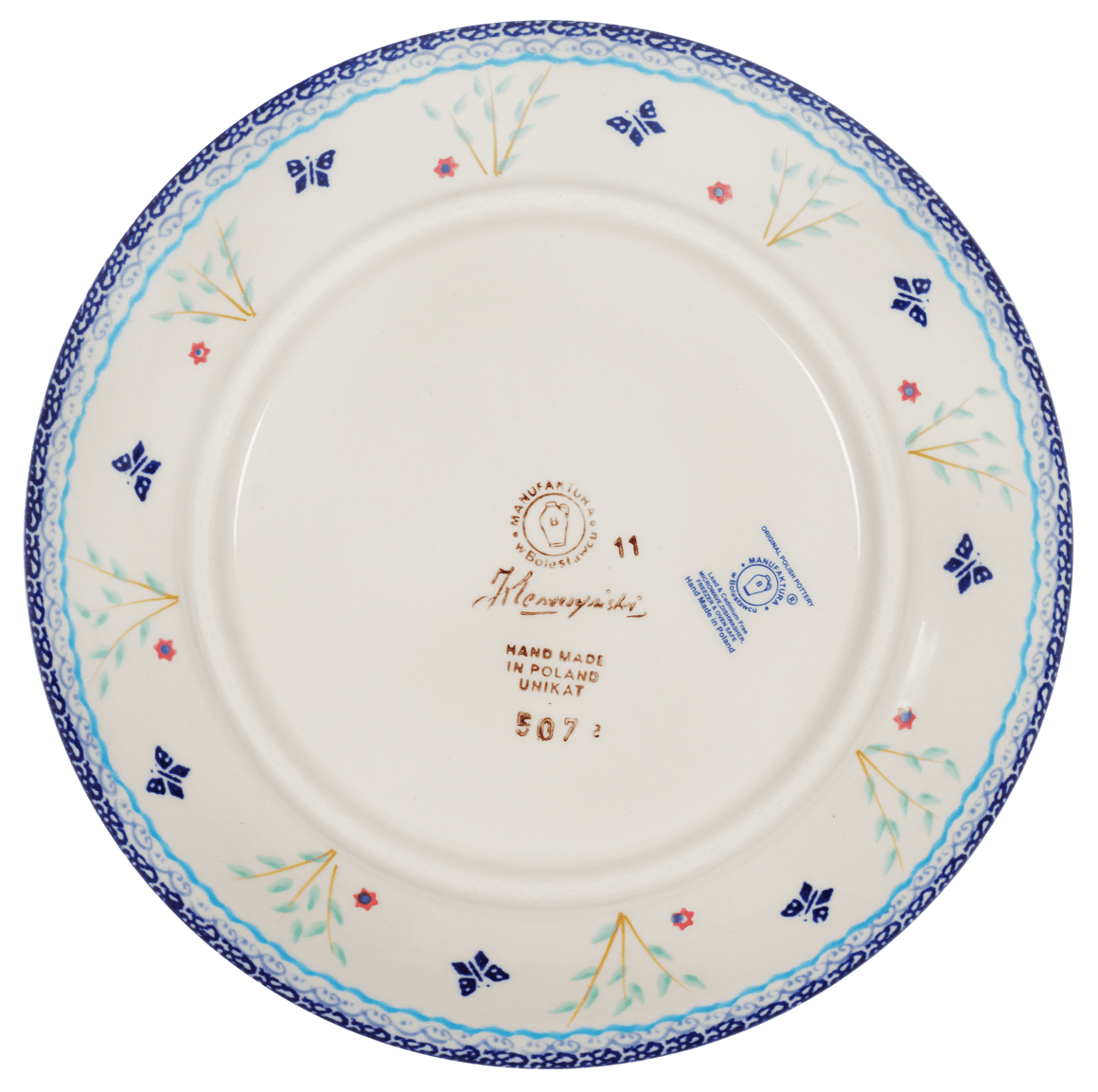 "8.5"" Salad Plate (Butterfly Bounty)"