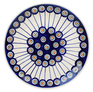 "8.5"" Salad Plate (Peacock in Line)"