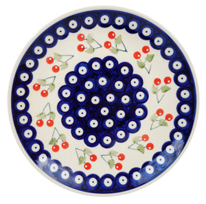 "8.5"" Salad Plate (Cherry Dot)"
