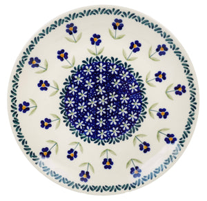 "8.5"" Salad Plate (Forget Me Not)"