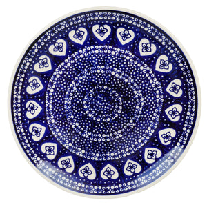 "8.5"" Salad Plate (Nordic Hearts)"