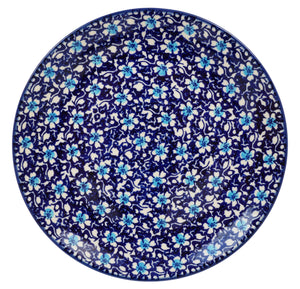 "8.5"" Salad Plate (Blue on Blue)"