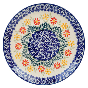 "8.5"" Salad Plate (Flower Power)"