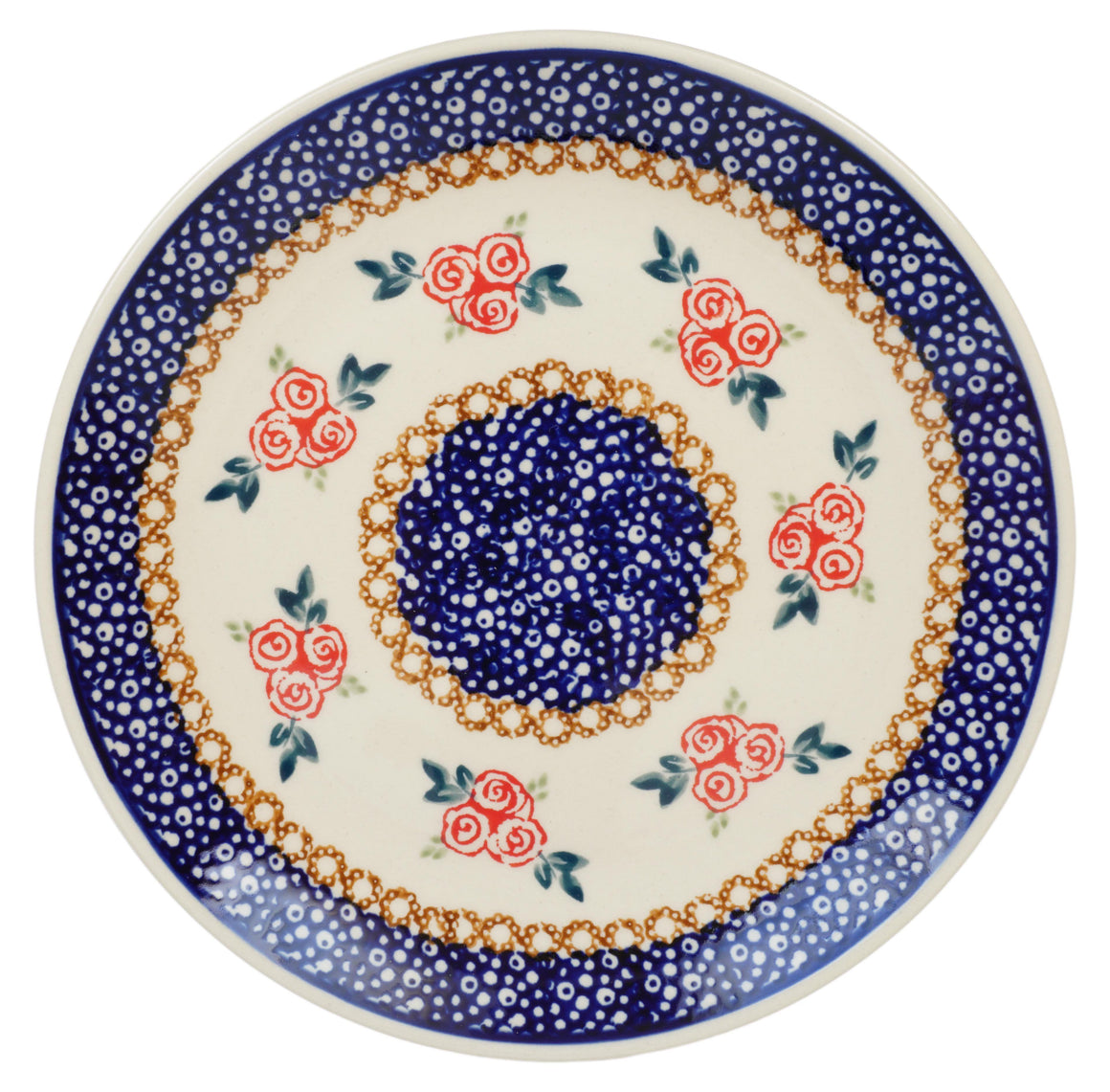 "8.5"" Salad Plate (Parade of Roses)"