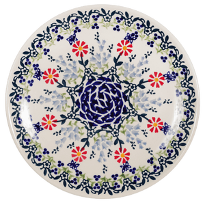 "8.5"" Salad Plate (Butterfly Blossoms)"