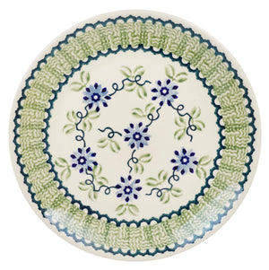 "8.5"" Salad Plate (Woven Blues)"