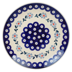 "8.5"" Salad Plate (Periwinkle Chain)"
