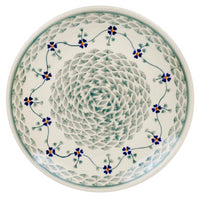 "8.5"" Salad Plate (Woven Pansies) 