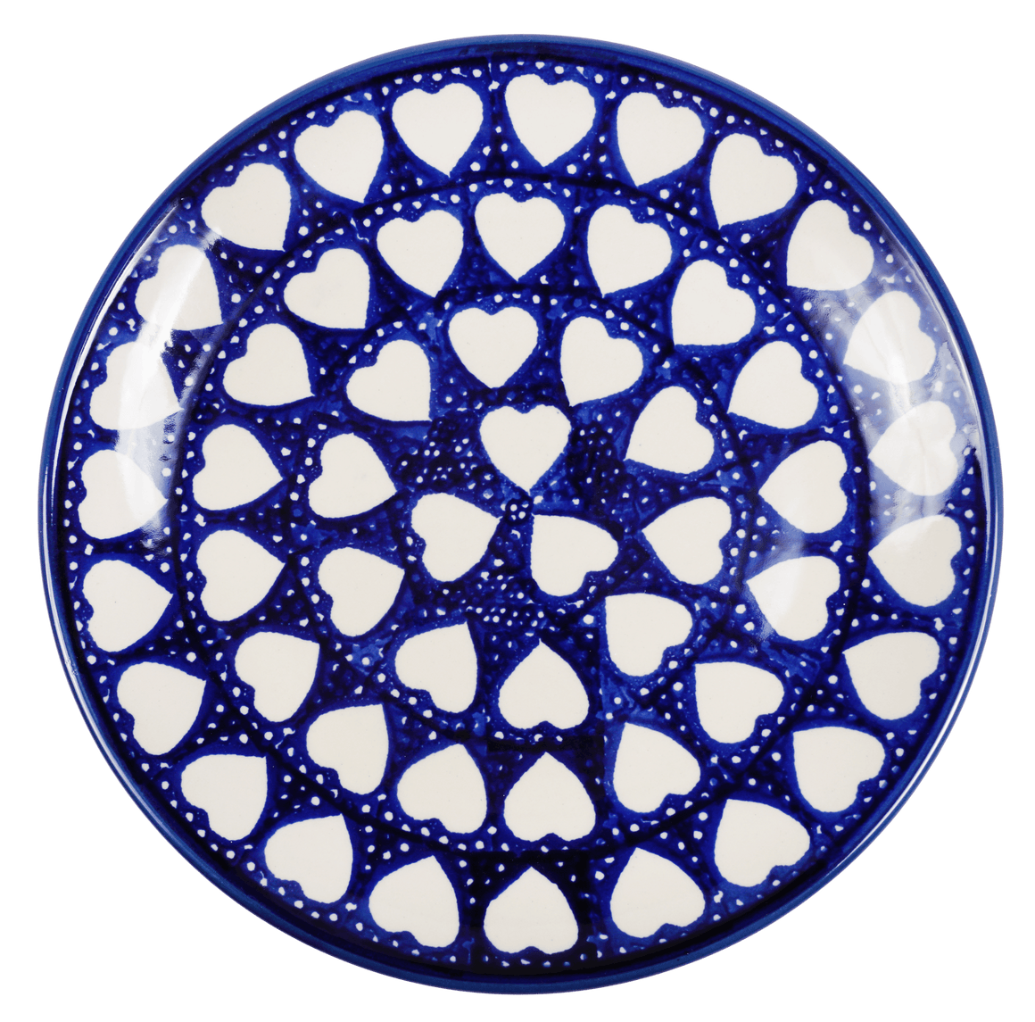 "8.5"" Salad Plate (Sea of Hearts)"