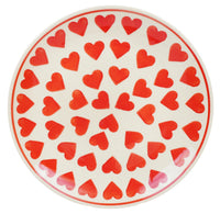 "8.5"" Salad Plate (Whole Hearted Red)"