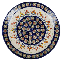 "8.5"" Salad Plate (Floral Spray)"