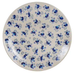 "8.5"" Salad Plate (Dusty Blue Daisies)"