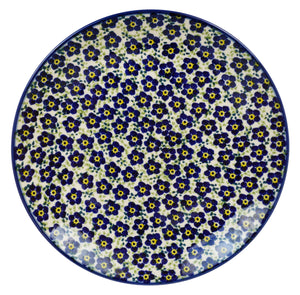 "8.5"" Salad Plate (Floral Revival Blue)"
